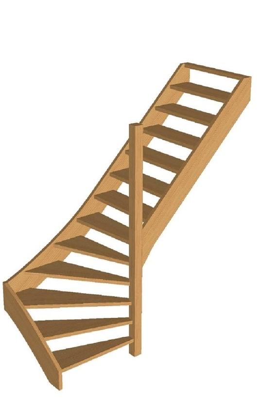 Prijzen linde trappen for Hoogte trapleuning boven trap